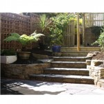 Stonework steps